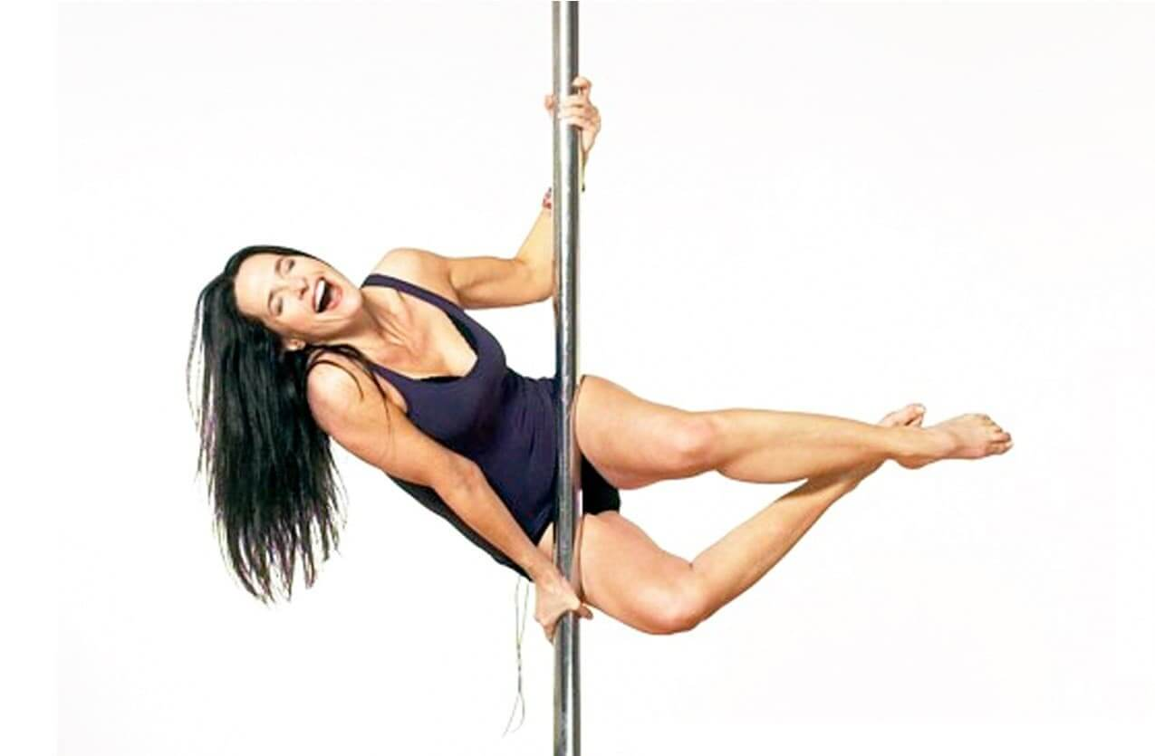 Sheila Kelley and her pole dance school for women.