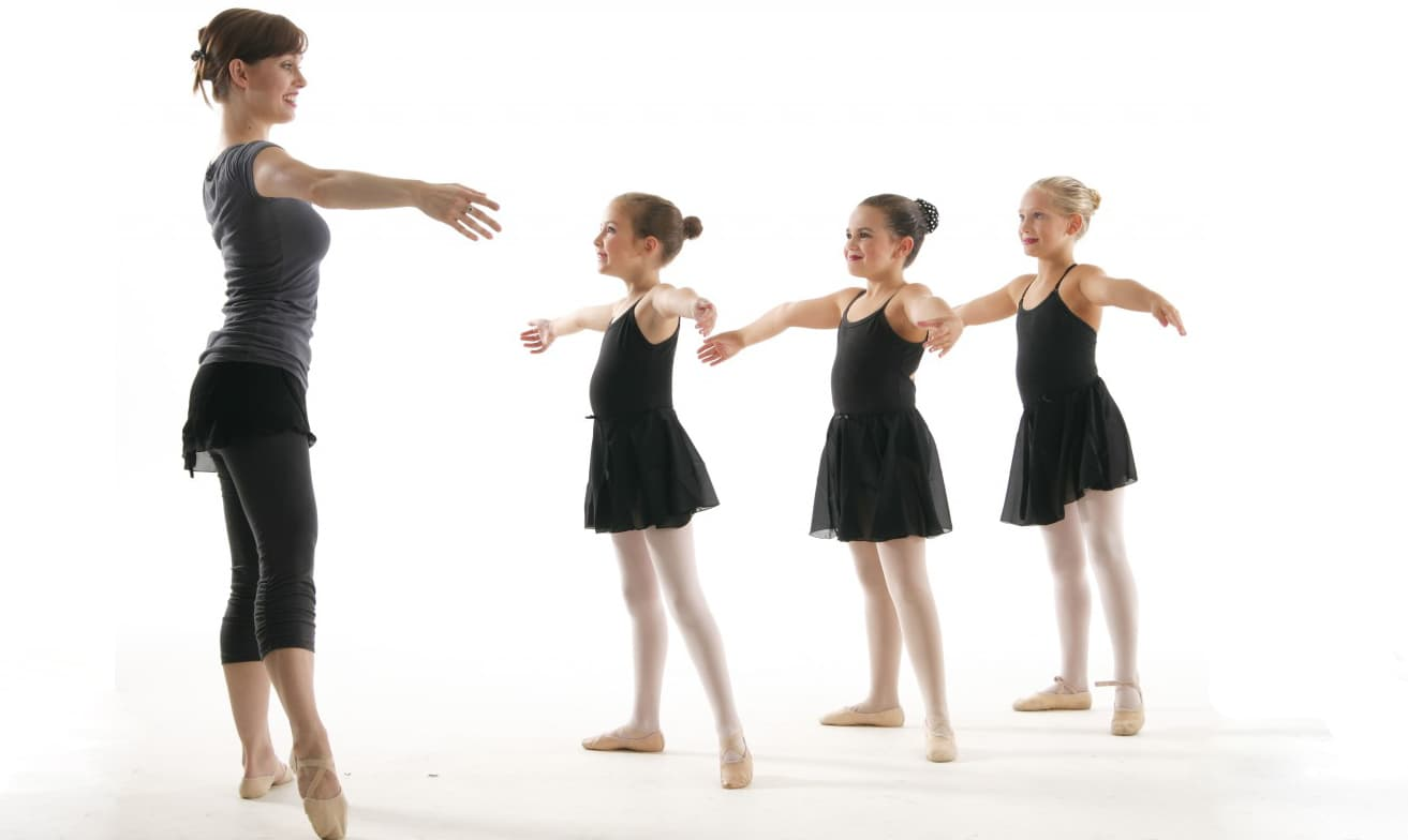 You can teach dancing to both young children and adults.
