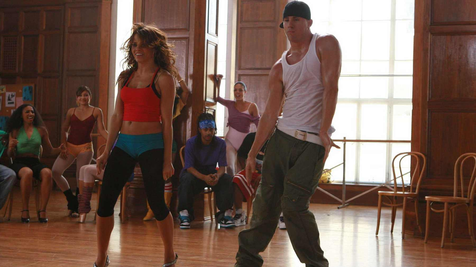 Step Up with Channing Tatum.
