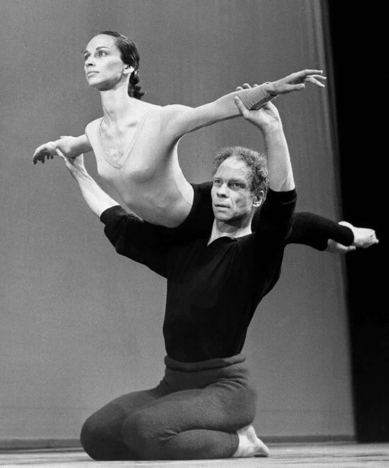 Merce Cunningham.