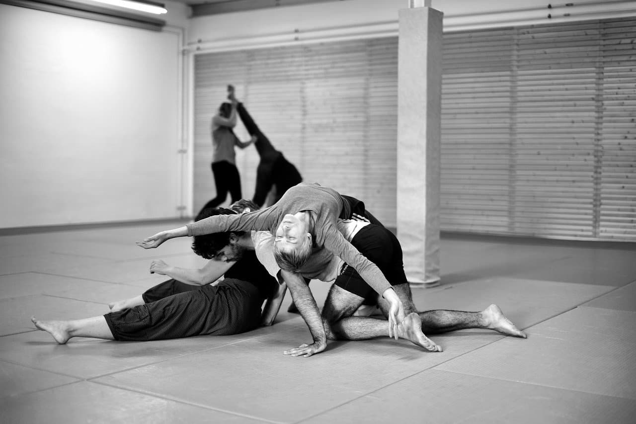 Contact Improvisation Dance.