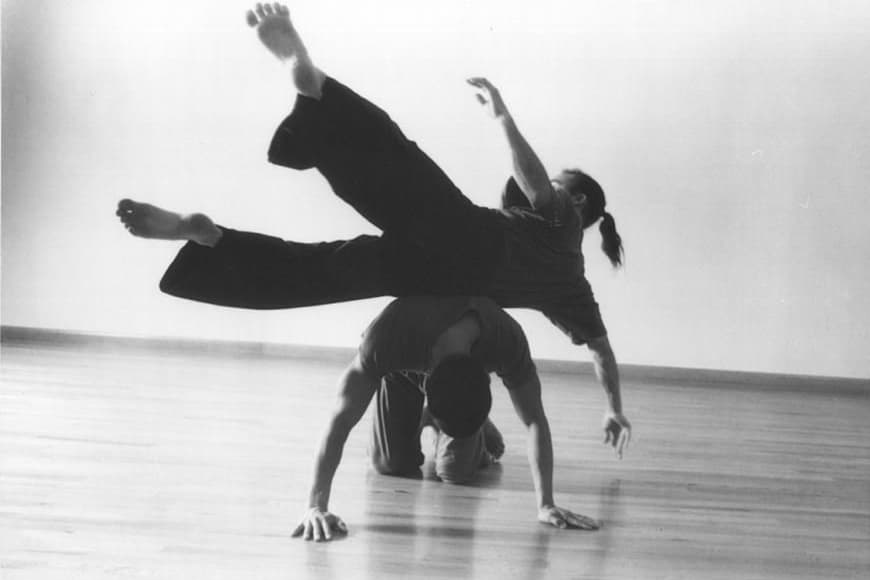 What is it contact improvisation?
